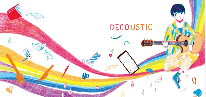 "DECO*27's self-cover album, ""DECOUSTIC"" is finally available digitally!"