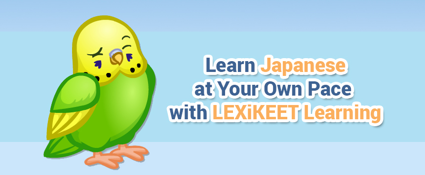 Learn Japanese at Your Own Pace with LEXiKEET