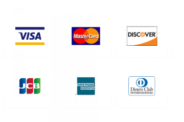 Credit or Debit cards