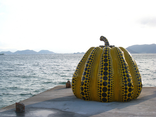 """""""Pumpkin"""", Yayoi Kusama"""