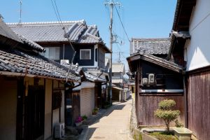 small town in rural japan