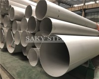 large diameter stainless steel pipe - China Saky Steel