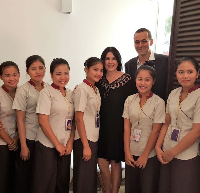 Nicolas Chesnier, Asia-Pacific Regional Managing Director at Sisley, partner for the Beauty Therapy training