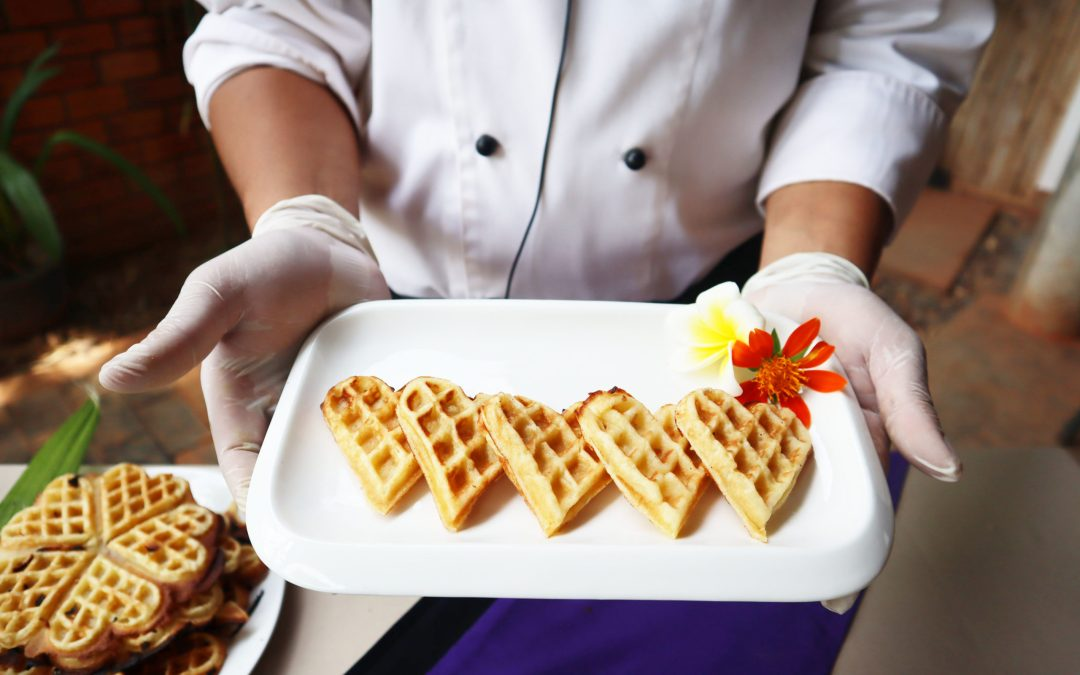 Cooking recipe: Khmer Coconut Waffles with Chanthoeun CHIM
