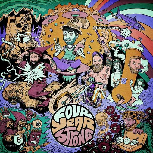 FOUR YEAR STRONG SELF TITLED ST S/T