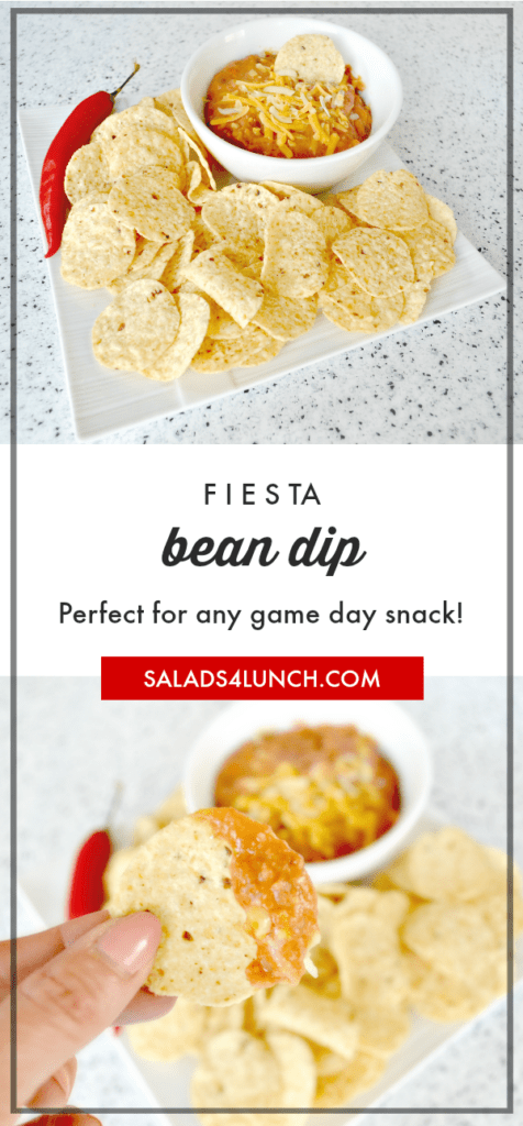 Fiesta Bean Dip - Perfect for any game day snack