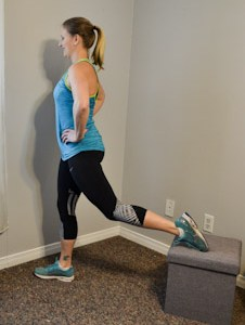 Don't just put your feet up – your living-room ottoman is all you need to workout your whole body! Ottoman workout exercises to do at home