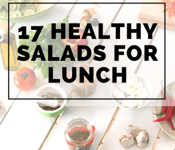 17 Healthy salads for lunch - Shake up your weekday lunch with these tasty, healthy salads for lunch recipes that are great on the go.#healthysalads #weightloss #saladsforlunch #buzzfeedfood