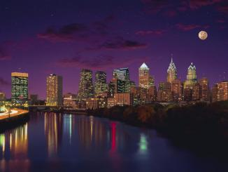 Philadelphia at Twilight