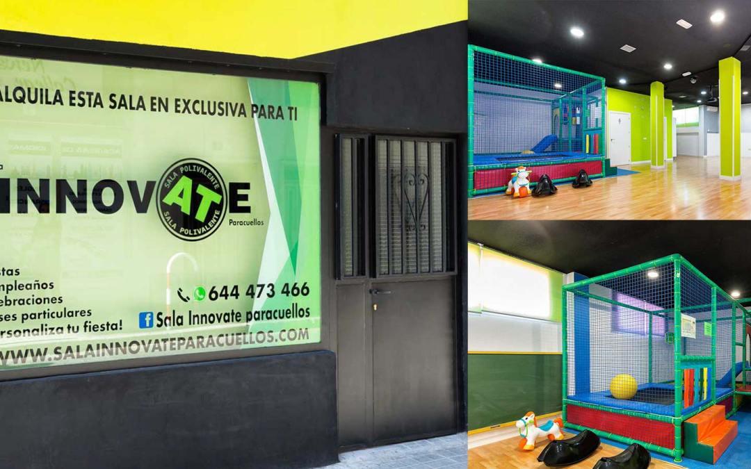 fachada sala innovate paracuellos