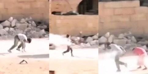 Suriah-Aksi Heroik Bocah Suriah Selamatkan Gadis Kecil dari bidikan sniper rezim Suriah-jpeg.image