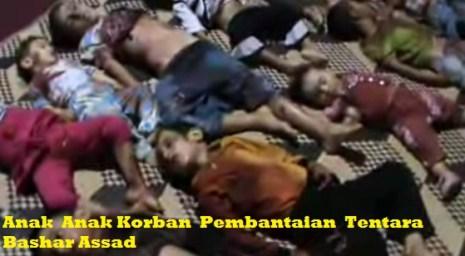 Anak-anak korban pembantaian rezim Basyar Asad di Suriah, dunia bisu-jpeg.image