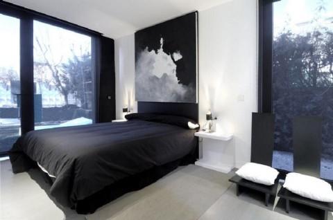 Chambre Design En Noir Blanc Salamstick Le Blog