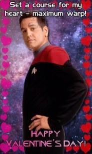 Voyager Valentine - Chakotay