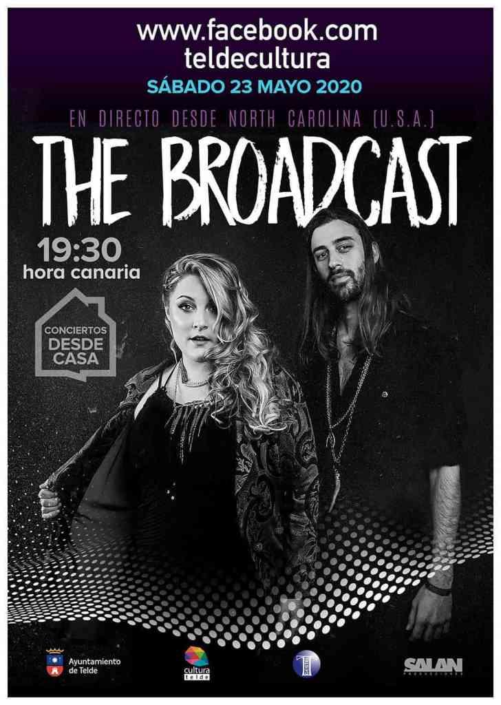 Concierto online en directo The Boradcast