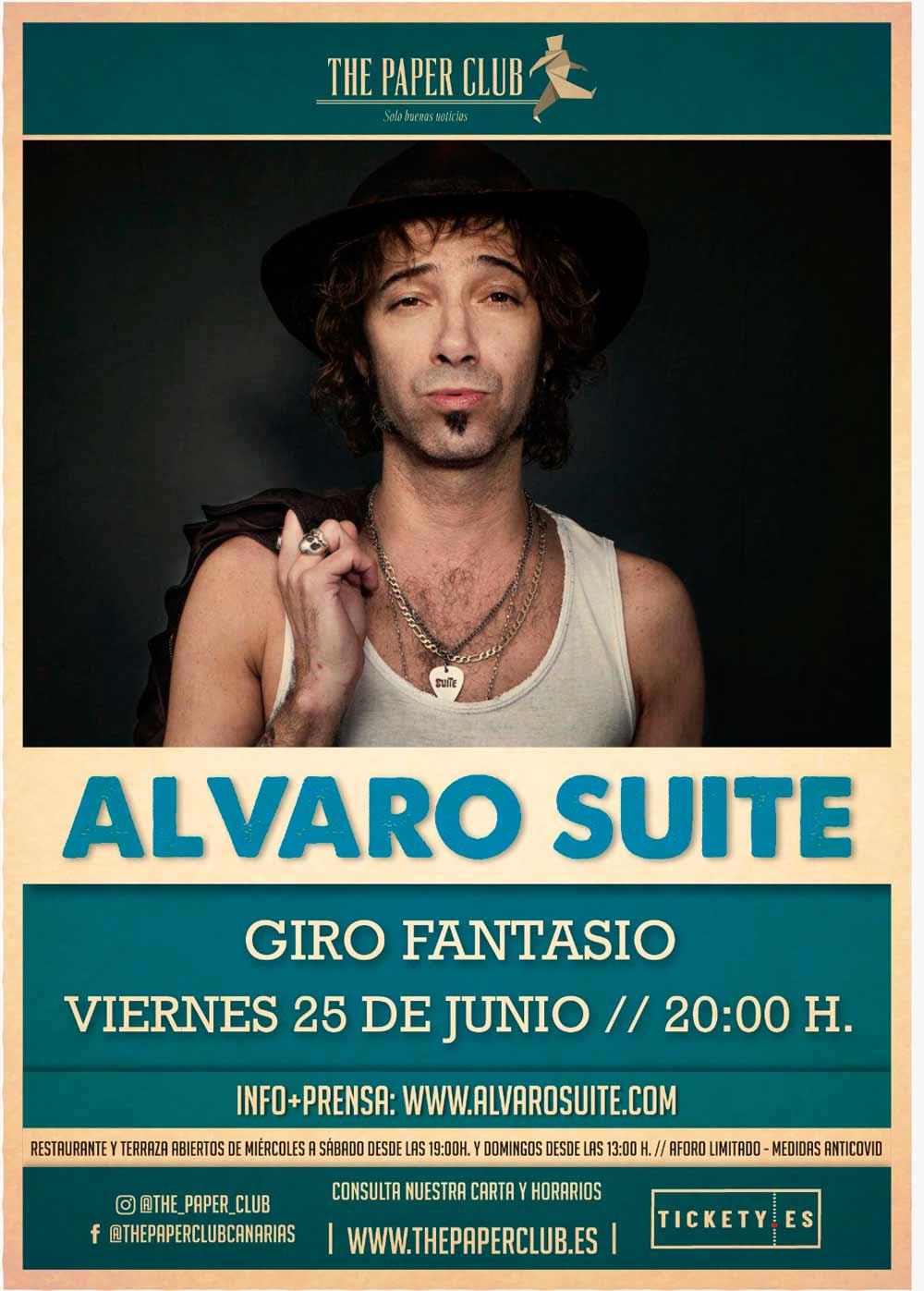 alvaro suite the paper club