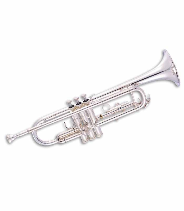 John Packer Trumpet JP051S B Flat Silver Plated with Case