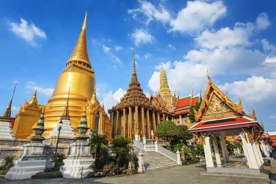 Wat Phra Kaeo, Bankgkok, Thailand