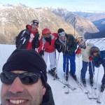 Convivencia de esquí