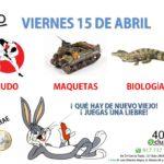 Plan del viernes 15 de abril y sábado 16 de abril