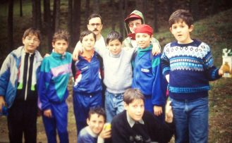 Promoción de Perico lopez, Andrés baños, Alvaro Martin con Angel Gil(1)