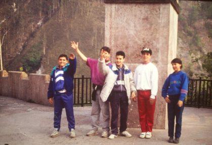 Sergio Díez, Paco Pedroviejo, Carlos Gordon, Rodri Ares y Orcar(1)