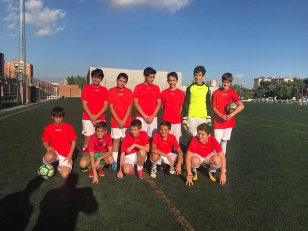 Equipo Fútbol 17-18 de 1º y 2º de ESO