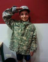 Uniformes militares en maquetas (1)