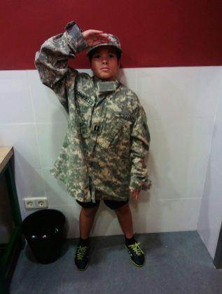 Uniformes militares en maquetas (6)