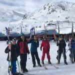 Cómo nos gusta esquiar
