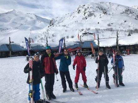 Esquiando en Febreo 8