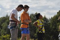 Cuarto y Quinto Escalando en el monolito de Rivas (13)