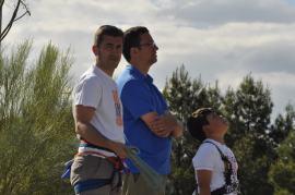 Cuarto y Quinto Escalando en el monolito de Rivas (23)