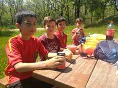 Acampada con los pequenos en las cabanas (2)
