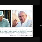 Charla virtual sobre Covid19 y Eutanasia