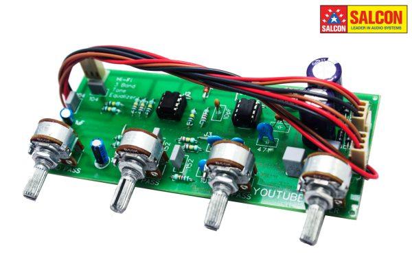 Preamplifier 4 tone Audio Board NE5532 IC