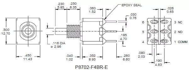 Pushbutton Switches P8702