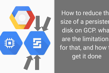 How to reduce the size of a Windows persistent disk in GCP