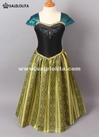 Kids Anna Coronation Dresses Girl Anna Princess Dress Kids ...