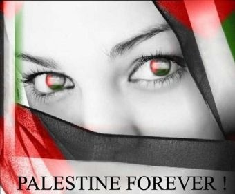Palestine woman by Sherry Saru