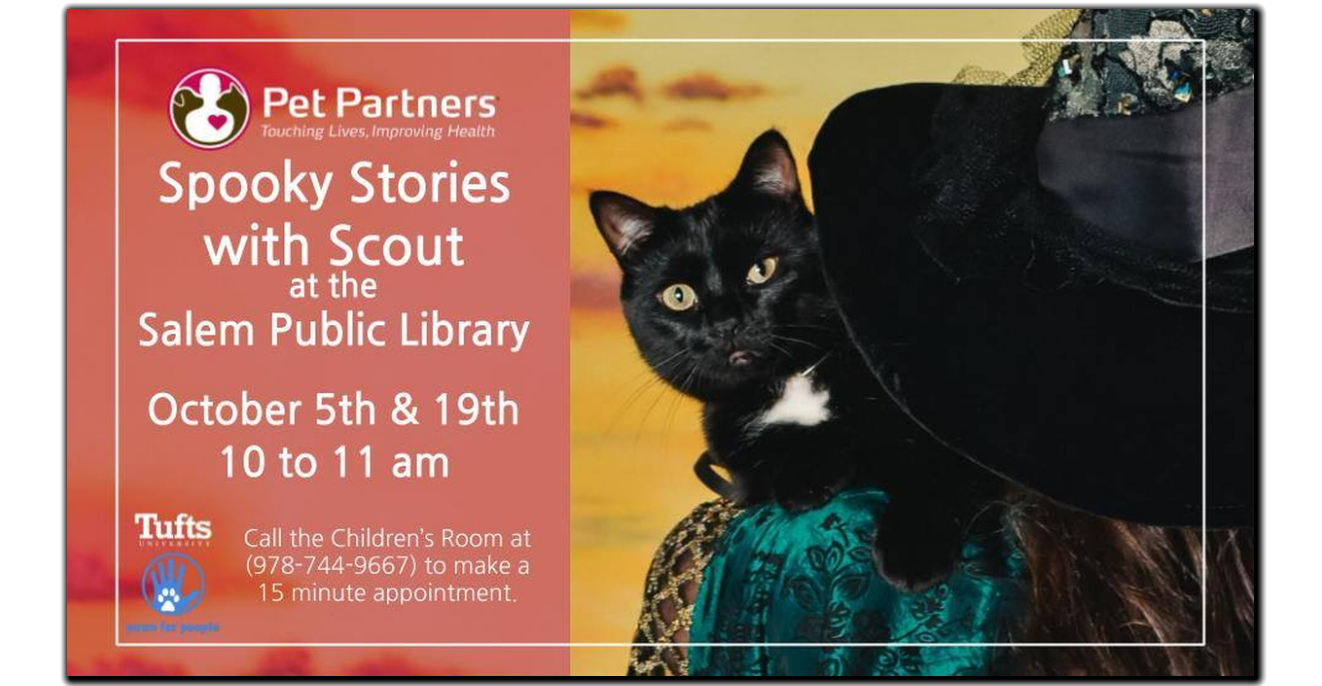 Oct 5 & 19 Spooky Stories With Scout