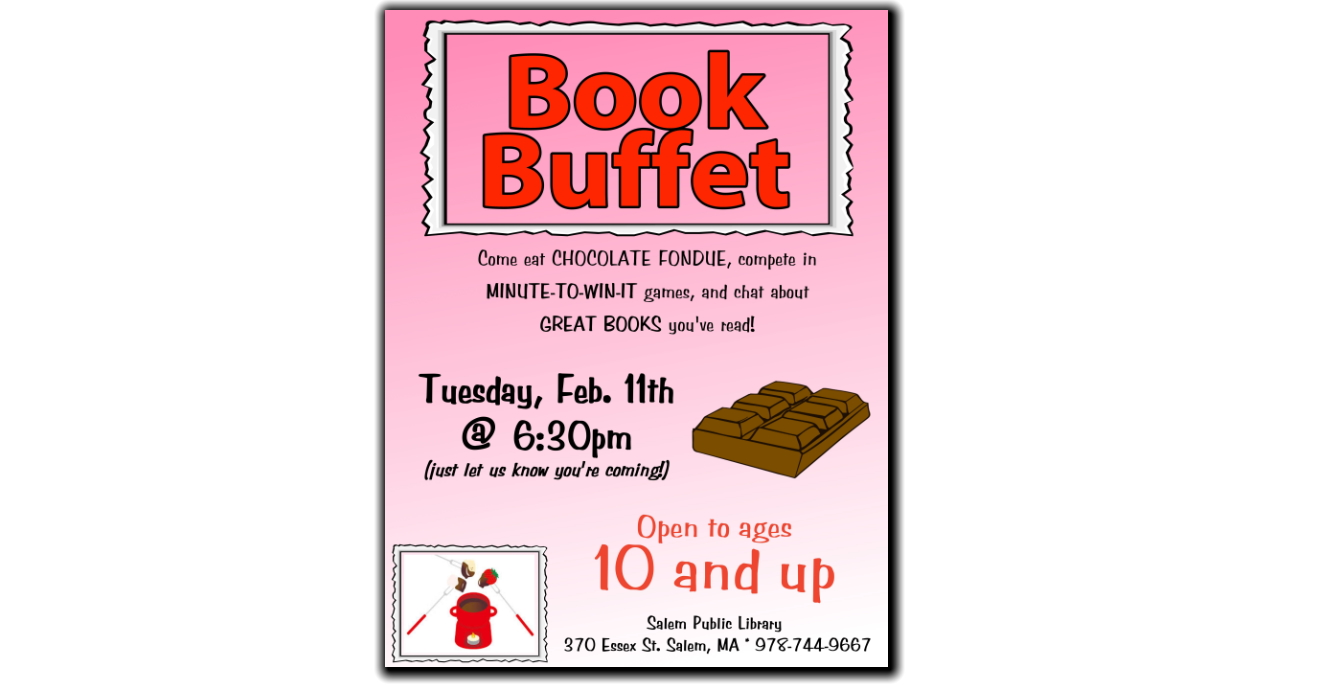 Book Buffet Feb 11 2020!