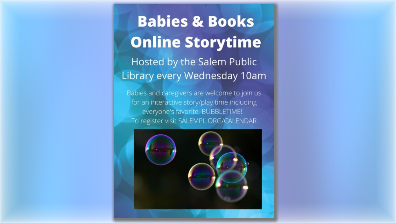 Babies & Books Online Story Time!