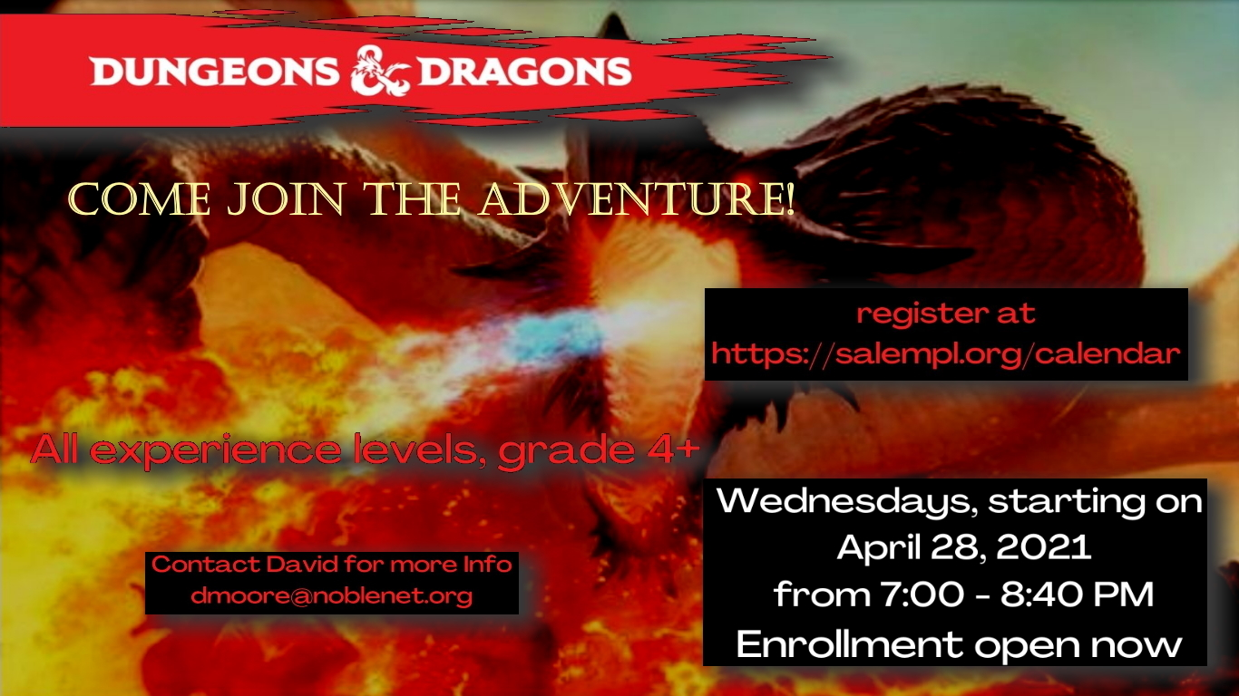 Play Dungeons and Dragons!
