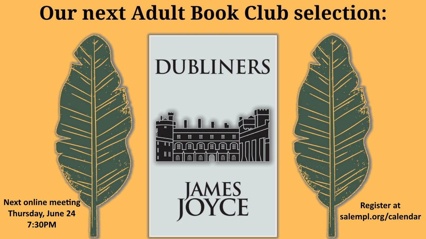 Adult Book Club - Dubliners