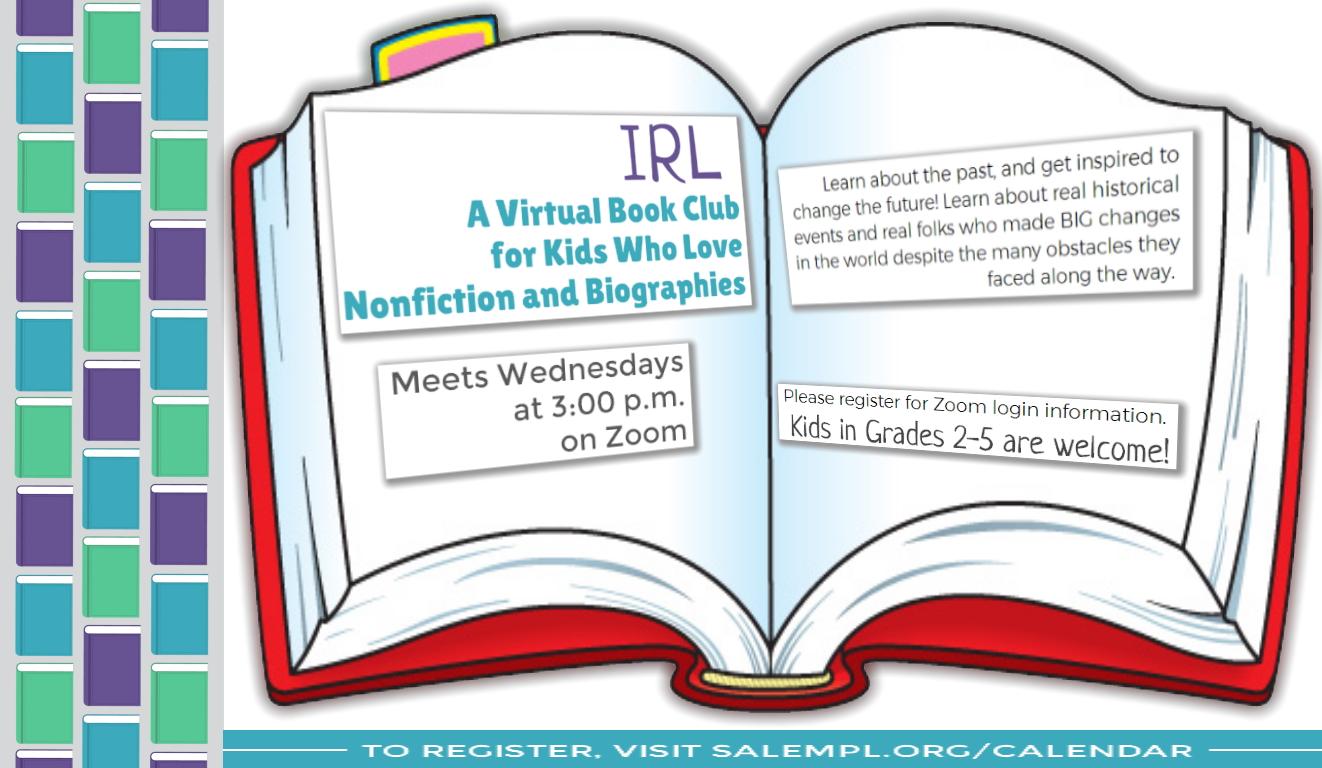 IRL Virtual Book Club!