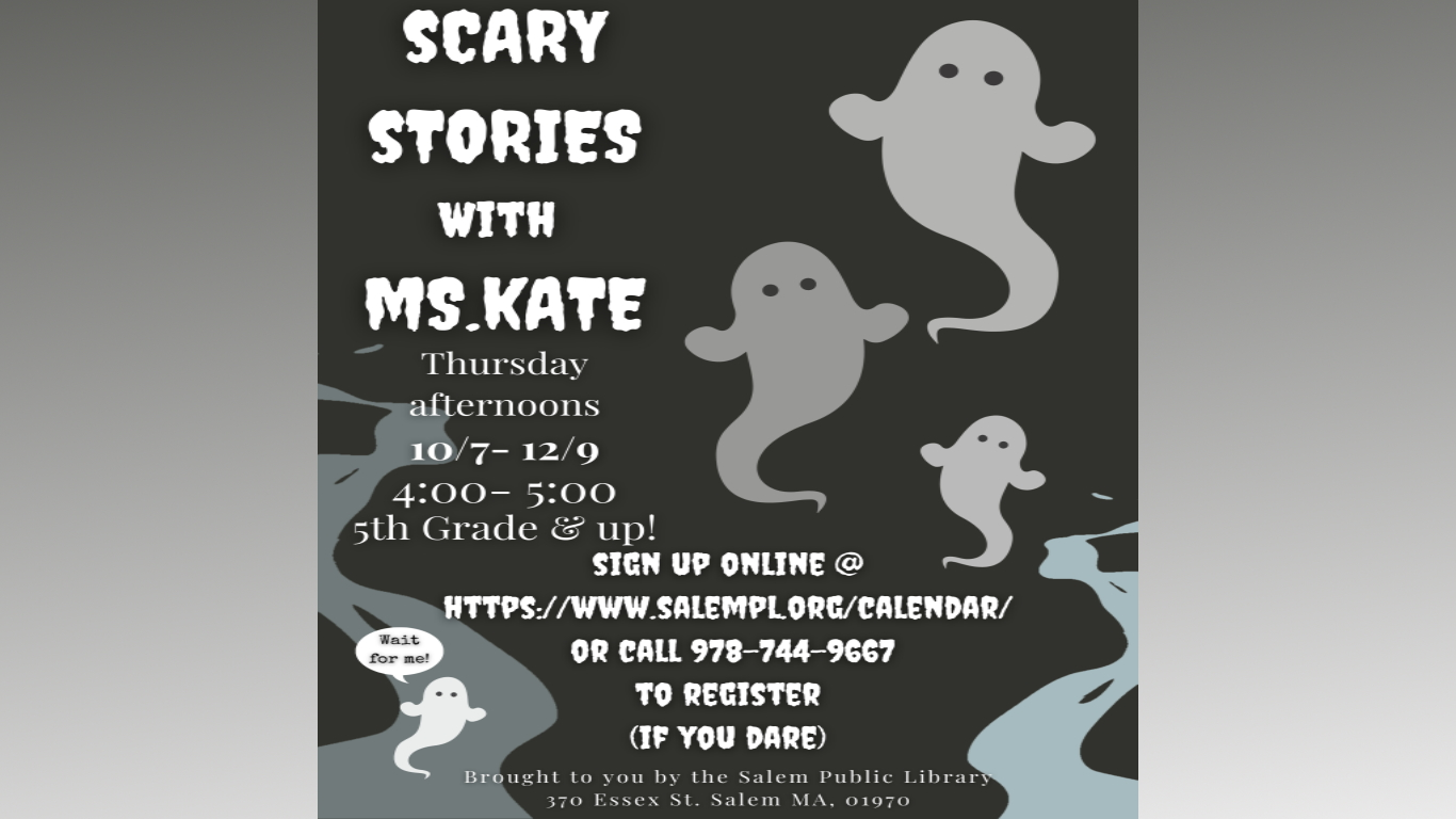 Scary Stories with Ms. Kate!