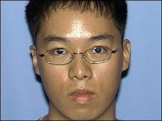 Cho Seung-Hui, the 23-year-old senior gunman suspected of carrying out the Virginia Tech massacre that left 33 people dead.