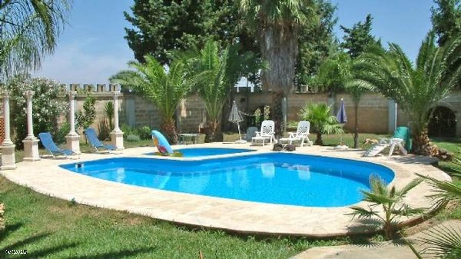 Villa con piscina nel salento In affitto per le tue vacanze