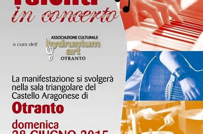 Concerto Giovani Talenti promosso dal maestro Enrica Negro